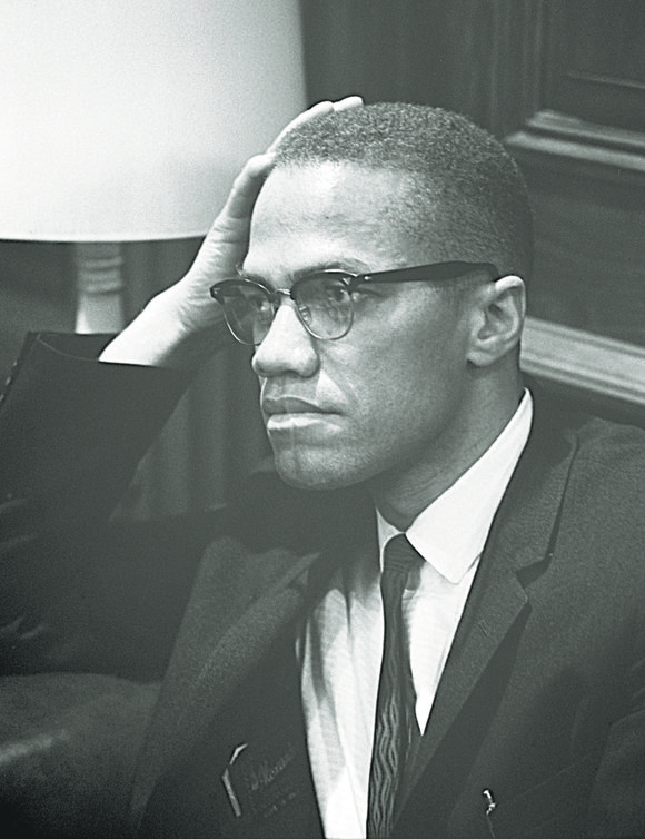 Malcolm X's visits to Mecca and West Africa in April-May of 1964 helped broaden his global scope a bit more ...