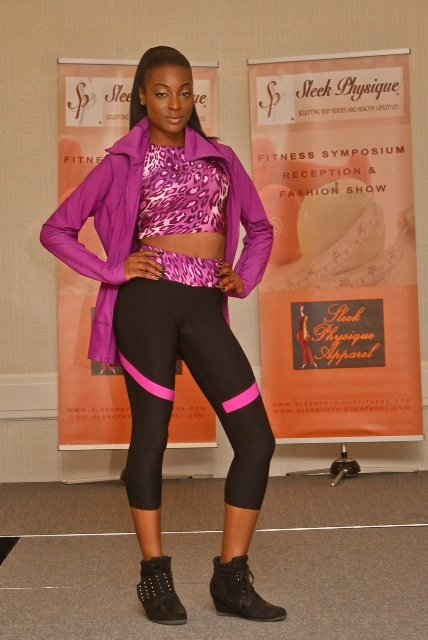 Last Saturday at the Crowne Plaza Hotel in White Plains, N.Y., a new fashion/fitness company named Sleek Physique made its ...