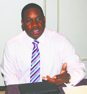 St. Lucia Director of Tourism Louis Lewis.
