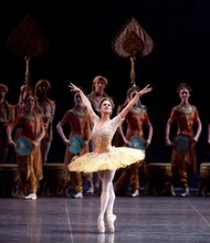 "Misty Copeland as Gamzatti in ""La Bayadere."""