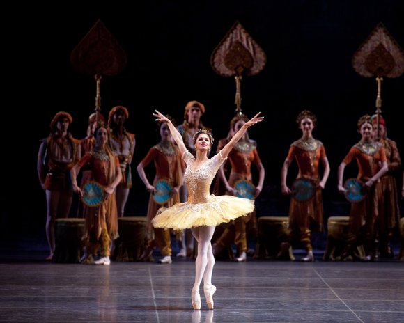 Misty Copeland continues with her strong comeback this season for American Ballet Theatre (ABT) and is featured in George Balanchine's ...