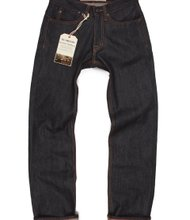 Raw jeans by Williamsburg Garment Company