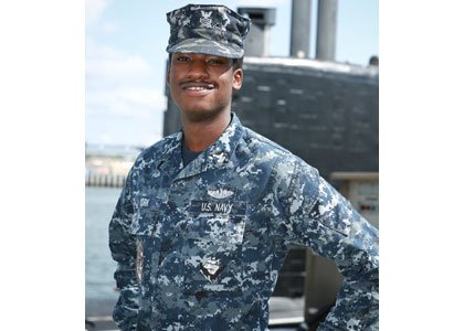 A 2006 Woodlawn High School graduate and Baltimore, Maryland native is serving aboard a U.S. Navy attack submarine, the USS ...