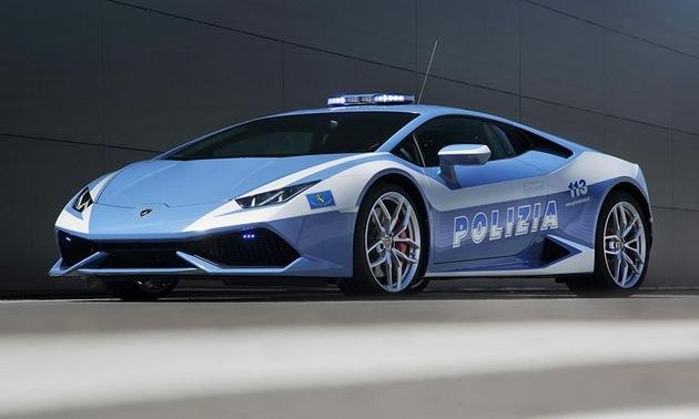 Lamborghini Huracan Lp610 4 Joins The Ranks Of The Italian State