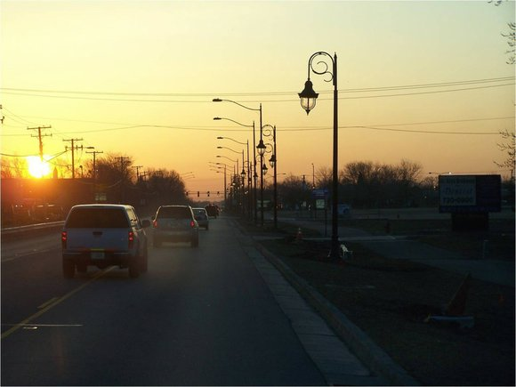 The new light poles will be installed along Route 59, Black Road and Vertin Boulevard.