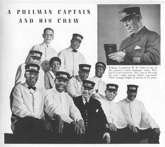 The Pullman Porters served as news deliverymen and correspondents for The Chicago Defender. (Courtesy of the Newseum)