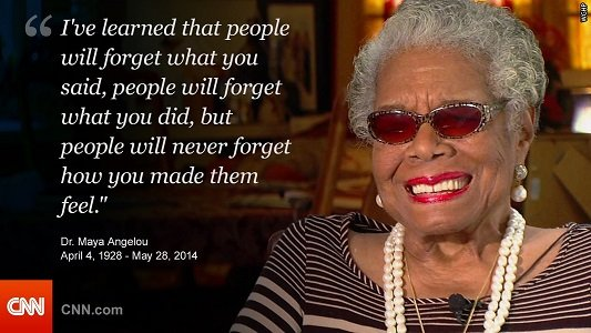 Dr. Maya Angelou interviews with CNN affiliate WGHP in December 2013. Angelou, a renowned poet, novelist and actress whose work defied description under a simple label, has died, her literary agent, Helen Brann, said Wednesday.