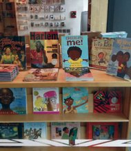 Children's book fair in Harlem
