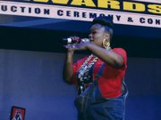 The Hip Hop Hall of Fame was honored to have the legendary Roxanne Shante serve as host of the 2014 Hip Hop Hall of Fame Awards Show at Stage 48.