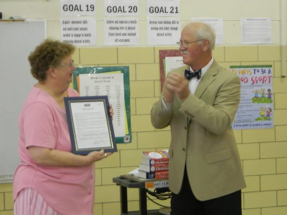 """May 28, 2014, was designated by the Plainfield mayor as """"Dr. Kathy Baxter Day"""" in recognition of her 40-year career ..."""
