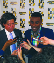 Herb Karlitz and Marcus Samuelsson answer questions