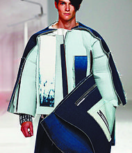 Menswear design by Simon Li