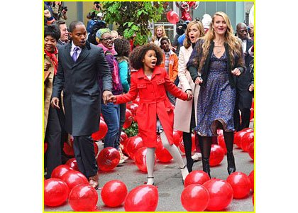 """Jada Pinkett Smith knew from the very moment she saw Quvenzhane Wallis the 10-year-old would make the perfect """"Annie."""""""