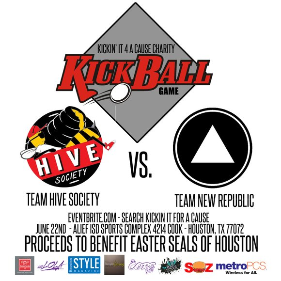 Kickin' it for a cause kickball tournament will be held in the Alief area and all proceeds to be donated ...
