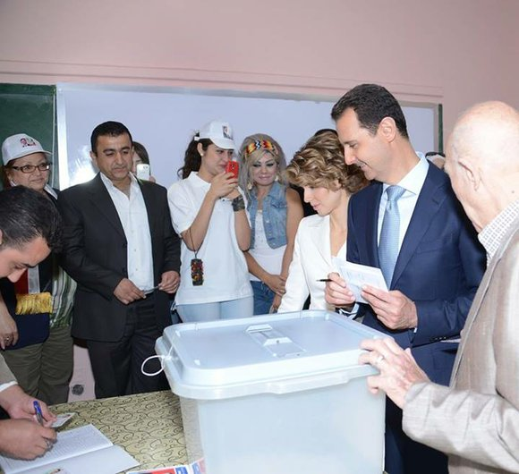 Polls for the Syrian presidential election opened Tuesday against the backdrop of a bloody and protracted civil war. The outcome ...