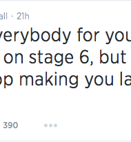 Arsenio Hall thanks fans for their support on twitter.