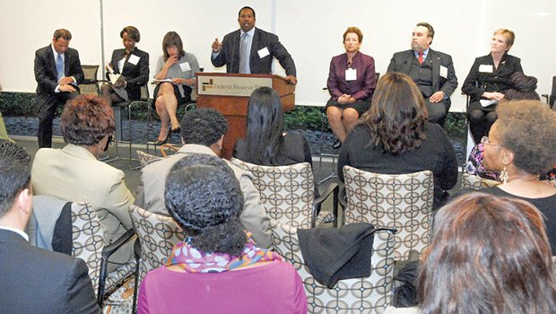 The Association of Latino Professionals in Finance and Accounting and Get Konnected! came together to host a forum on diversifying corporate boards in an effort to increase racial and gender diversity on corporate and public sector boards.