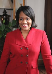 """""""The minimum wage should be a living wage.  If you work full-time, you shouldn't have to rely on government support to put food on your family's table or a roof over your head."""" - State Senator Kimberly A. Lightford -  (D-Maywood)"""