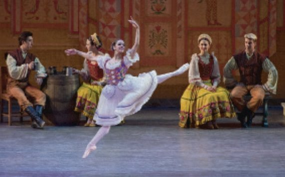 "In American Ballet Theatre's (ABT) ""Coppelia,"" considered the last of the Romantic ballets, Misty Copeland made the fantasy real in ..."