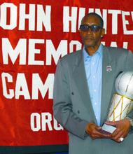 Former Knick Wingo Hawthorne Wingo is now a Bob Douglas Hall of Famer.