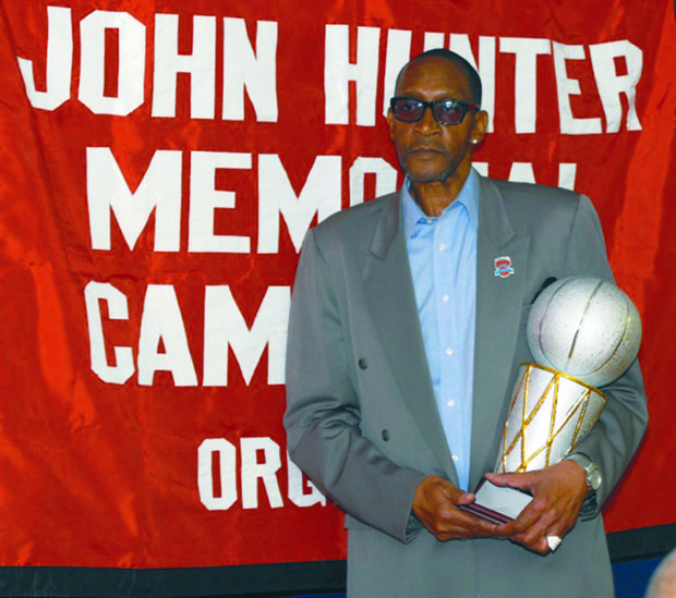 Former Knick Wingo Hawthorne Wingo is now a Bob Douglas Hall of Famer.