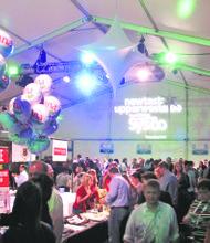 New Taste 2014 under the tent