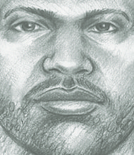 Police composite of the suspect