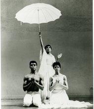 "Alvin Ailey, Ella Thompson and Myrna White in ""Revelations"""