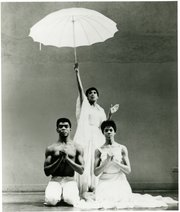 "Alvin Ailey, Ella Thompson and Myrna White in ""Revelations"""