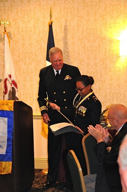 Stephanie Lee is also ranked No. 1 in Illinois in the 2014 National Outstanding Cadet Contest.