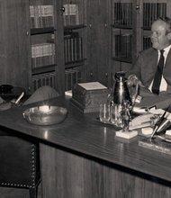 Moses Newson interviews U.S. Attorney General Richard Gordon Kleindienst. Kleindienst served in his post during  the Watergate political scandal.