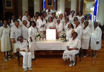Members of Iota Phi Lambda Sorority, Incorporated; Kappa and Upsilon Epsilon Chapters; Iota Phi Lambda Sorority, Incorporated Kappa and Upsilon Epsilon Chapters; and Kappa Chapter's Founder's Day Committee at the celebration of the 85th Founder's Day on Sunday, June 1, 2014.