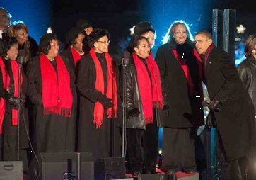 The Washington Performing Arts Men and Women of the Gospel Choir was honored Wednesday by the Choralis Foundation at an ...