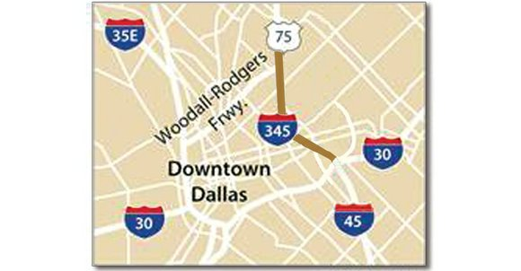 Drivers who use Interstate 345 to travel from Southern Dallas to Northern Downtown can relax – at least for now. ...