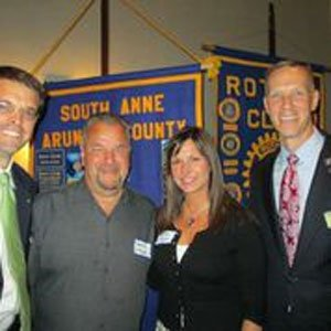 Six Anne Arundel County residents with outstanding service contributions to the community were honored by four area Rotary Clubs during ...
