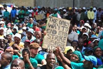 South African miners are holding out for a living wage in the longest strike against mining companies in the country's ...