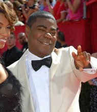Tracy Morgan and female friend