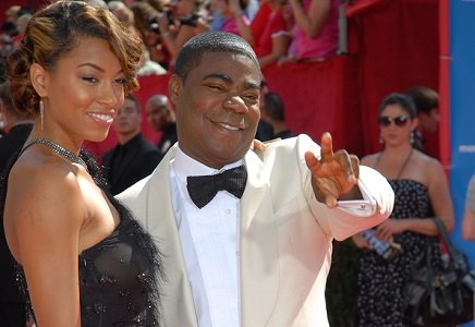 Tracy Morgan is overcoming tragedy the only way he knows how through laughter.