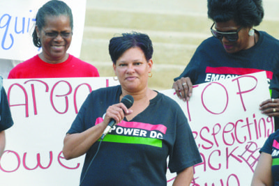 A group of disgruntled parents converged on the front steps of a Northeast high school last week to protest proposed ...