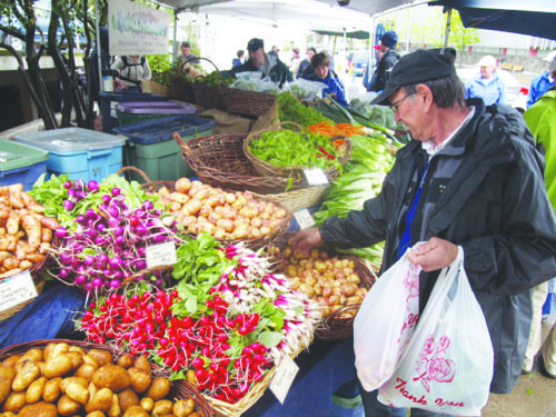 With fresh produce and homemade crafts now available each week at a new farmers market and bazaar in Brentwood, saving ...
