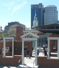 """The Liberty Bell Center is one of numerous entities comprising the 55-acre, 20-city block Independence National Historical Park, """"America's Most Historic Square Mile."""""""