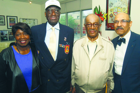 The Friends of the Harlem Vet Center announce their proposal to erect a memorial wall in the plaza of the ...