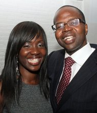 Ken Thompson and wife Lu-Shawn Thompson