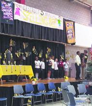 2nd grade spelling bee contestants