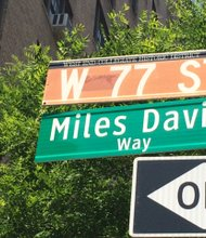 Unveiling of Miles Davis Way