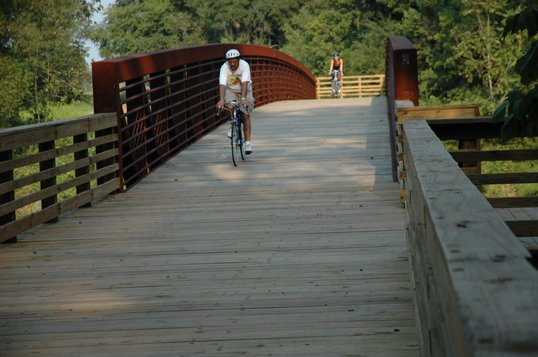 Bicycle riders can now pedal from the city of Lithonia to the Monastery in Conyers with the completion of more ...