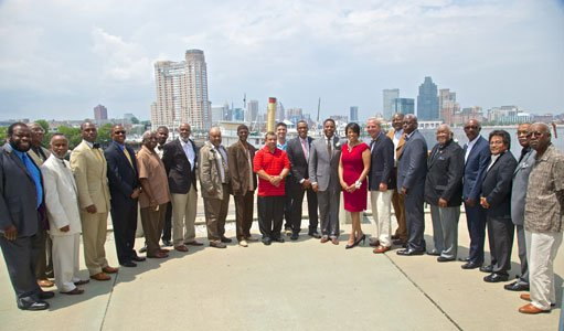 On Tuesday, June 10, 2014, Mayor Stephanie Rawlings-Blake hosted her 8th annual Baltimore's Top Neighborhood Dads luncheon at the Baltimore ...