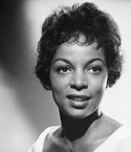 "Ruby Dee appeared in the 1961 film ""A Rasin in the Sun."""
