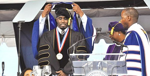 A record number of graduates took part in Howard University's 146th Commencement Convocation, on a day that saw music mogul ...