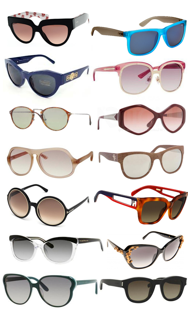 Sunglass Shapes to Fit Your Face